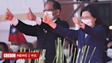 蔡英文讚台灣經濟「重回亞洲四小龍之首」 學者憂K型增長