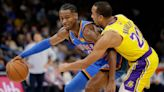 Gilgeous-Alexander, Thunder rally from 26 down to top Lakers
