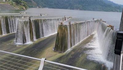 颱風襲台降大雨!15座水庫蓄水率破90%
