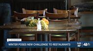Winter poses new challenge to restaurants