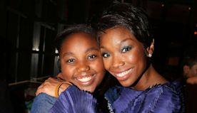 Brandy shares her 'exciting' studio experience with her daughter