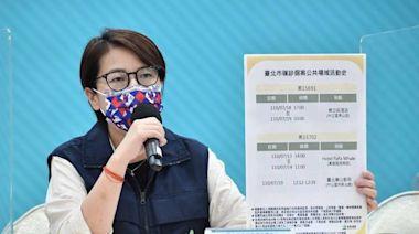 北市「特別行程」確診足跡住過萬華區旅館 匡列15人、1家人感染