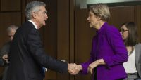 Sen. Elizabeth Warren's opposition against Powell heats up