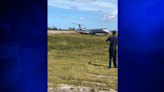 American Eagle plane from MIA slides off Freeport runway; no serious injuries