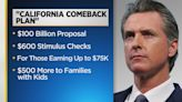 Gov. Newsom Proposes Budget That Would Send $600 Stimulus Checks To Two-Thirds Of Californians