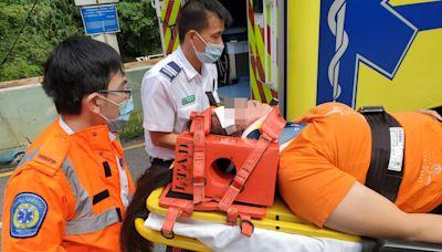 觀塘女子遭復康巴撞倒 送院搶救