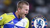 Chelsea targeting £103m Juve star De Ligt transfer after failing to land Kounde