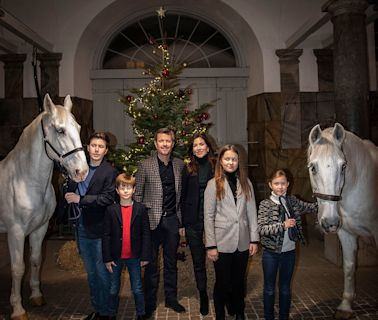 Princess Isabella of Denmark Shows Some Serious Side-Eye in Royal Photo Christmas Photo