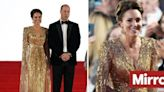 Kate Middleton dazzles in gold sequin gown at James Bond film premiere