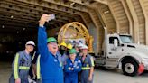 Rocket that will launch Boeing's 1st crewed mission for NASA arrives in Florida (photos)