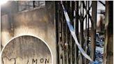 白田邨奪命火|單位嚴重燒焦 牆上心相印標記令人揪心