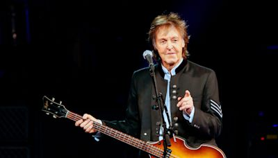 Paul McCartney disses The Rolling Stones, calling them 'a blues cover band'