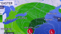 Major nor'easter clobbering Eastern Seaboard with heavy rain and wind