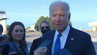 US President Joe Biden says Bill Clinton 'is doing fine' at hospital