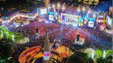2020新北歡樂耶誕城,全台唯一迪士尼光雕投影秀!