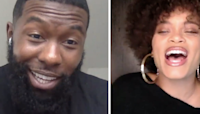 """Golden Globe Winner Andra Day And Trevante Rhodes Took Our """"Co-Star Test"""" To See How Well They Know Each Other"""