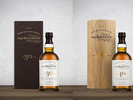 威士忌品酩收藏家不能錯過的夢幻逸品「百富The Balvenie30年、40年」即將改版 - 工商時報