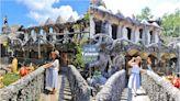 【高雄景點】莊嚴又夢幻!田寮石頭廟,珊瑚與石頭打造成的神殿級奇幻廟宇~