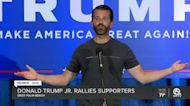 Donald Trump Jr. holds rally in West Palm Beach
