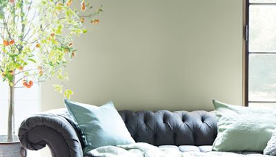 October Mist, Benjamin Moore's Color of the Year 2022, Is Further Proof That Green Is Having a Moment