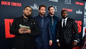 How to take a bullet, by 'Den of Thieves' star 50 Cent