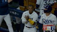 光芒主場特產!Nelson Cruz敲出場地規則陽春全壘打【MLB球星精華】20211008