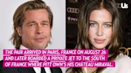 Brad Pitt's GF Nicole Poturalski Replies to Fan Asking Why She Hates Angelina