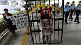 Hong Kong man on national security trial over protest chants