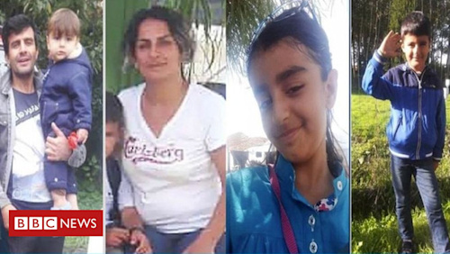 Channel migrants: Kurdish-Iranian family died after boat sank