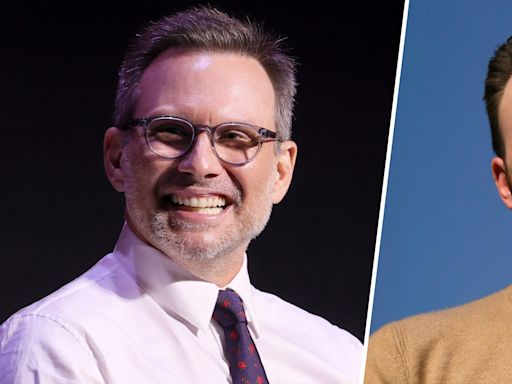 See Christian Slater's reaction to Chris Evans' confusing viral tweet about him