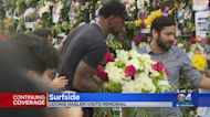 Miami Heat. Captain Udonis Haslem Pays Respects For Surfside Victims