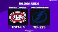 Betting: Lightning vs. Canadiens | June 30