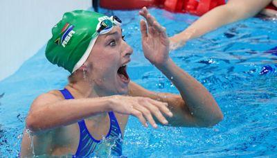 South Africa's Tatjana Schoenmaker sets world record in 200m breaststroke
