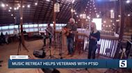 Music retreat aims to help veterans cope with PTSD