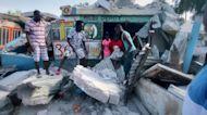 Powerful earthquake in Haiti leaves hundreds dead