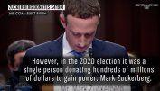 Mark Zuckerberg donated $419M in 2020