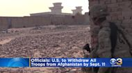 United States Expected To Withdraw All Troops From Afghanistan By Sept. 11