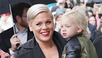 Pink's Son Jameson, 2, Welcomes Her Home With A Bouquet Of Flowers In Sweet Instagram Video