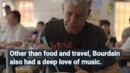 Anthony Bourdain's Favorite Songs Have Been Compiled Into a Playlist — Listen to It Now