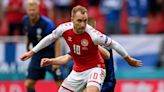 Stars send support for Christian Eriksen after collapse on pitch at Euros