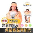 Sunspa 真 專利光能布 UPF50+ 遮陽防曬 濾光 口罩式連帽外套