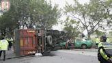 近年涉及的士交通意外 落馬洲6死車禍最嚴重
