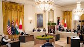 Biden hosts leaders of Japan, India, Australia in first in-person Quad Summit