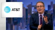 John Oliver slams HBO's parent company AT&T: 'You're a terrible company'