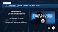 Belleville vs. Dearborn Fordson named WXYZ Leo's Coney Island Game of the Week