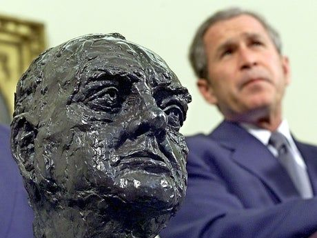White House Churchill bust: the history behind the controversial sculpture that Biden removed
