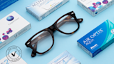 Save up to 60% on prescription glasses for the new year—and 25% off contacts