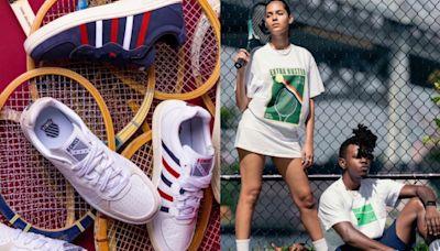 K-SWISS品牌日全館4折起~超心動復古鞋新血,眾粉敲碗就這款!4面向一「網」打盡當家逸品