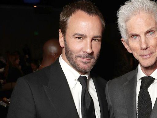 Murió Richard Buckley, aclamado editor de moda y esposo del diseñador Tom Ford por 35 años