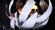 Tennis Star Naomi Osaka Lights Olympic Cauldron